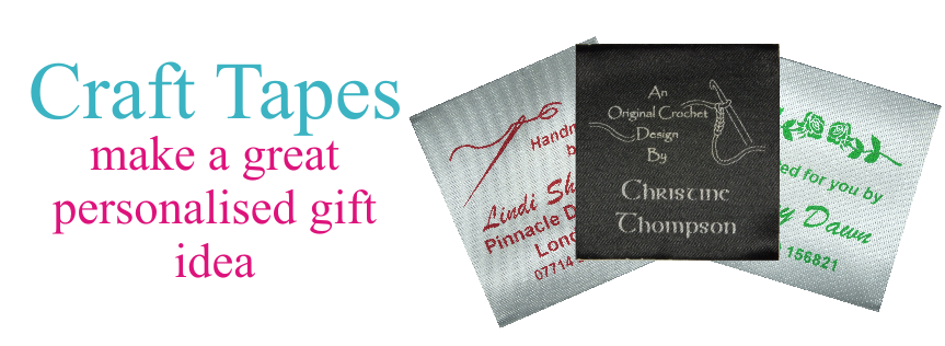 Craft Tapes make a great personalised gift for family and friends