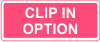 Clip in option available using Taggits