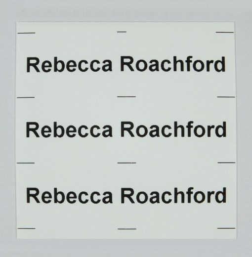 Our best value Iron-On Name Tags ideal for use as School Name Tags