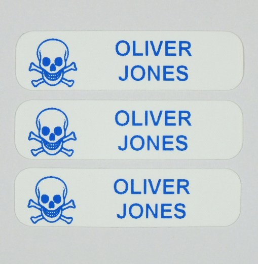 Iron On Character Nametapes
