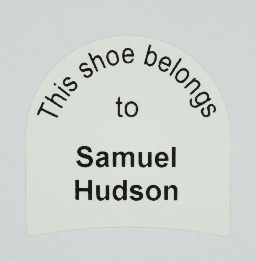 Heel Shoe Labels