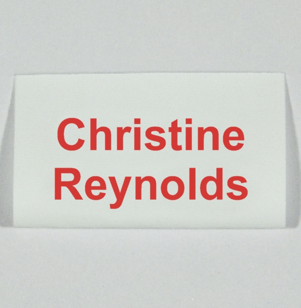 New Loop-Fold Fray Resistant sew in Name Tapes